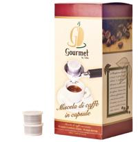 scatola capsule caffé Gourmet