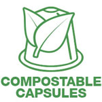 Compostable capsules