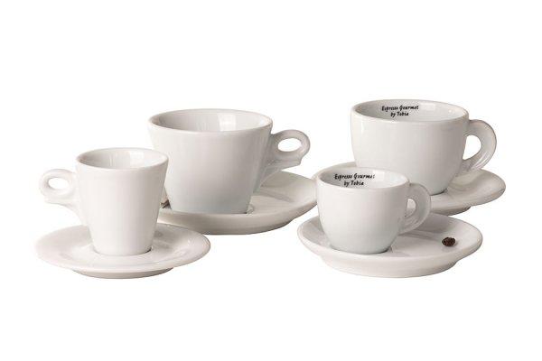 Tazzine e piattini for coffe lovers only torrefazione for Tazzine caffe moderne