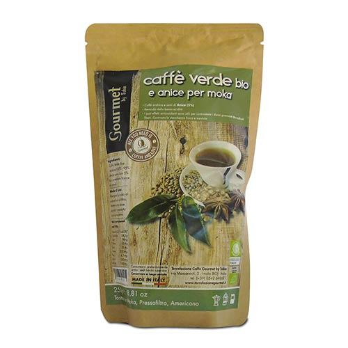 Caffè verde con anice