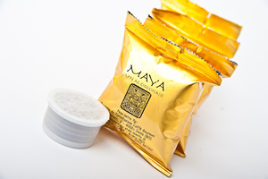 coffee with chocolate flavour MAYA - capsules